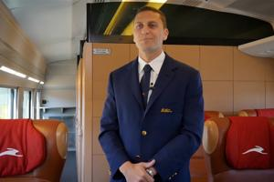 Interview with Filippo, Train Manager